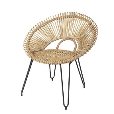 FOTEL RATTANOWY NATURAL BLOOMINGVILLE