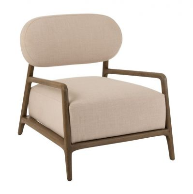 fotel 1 Person Relax Textile-Wood j-line