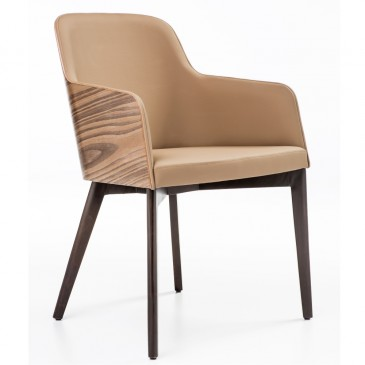 CHAIR HERMON WOOD WITH ARM