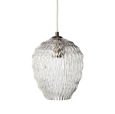 LAMPA WISZ�CA ICE CRYSTAL SZARA FRANDSEN