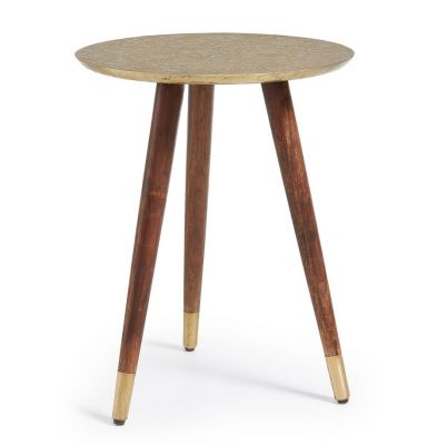 SIDE TABLE MISY BRASS