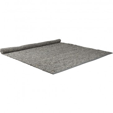 DYWAN PURE LIGHT GREY 160X230 ZUIVER