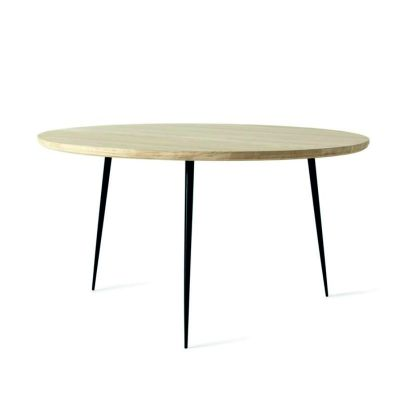 COFFEE TABLE DISC OAK MATER