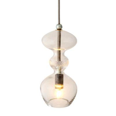 HANGING LAMP FUTURA TRANSPARENT 37 CM EBB & FLOW