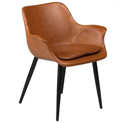 ALARICO WITH ARMS CHAIR BROWN