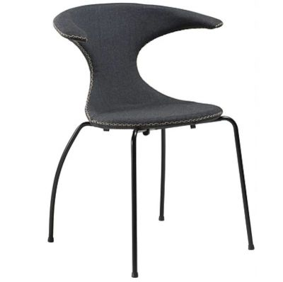 WIDOW GREY-BLACK BASE CHAIR