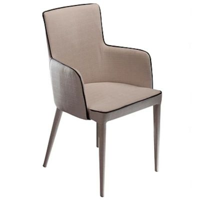 MARA CREAM WITH ARMS CHAIR