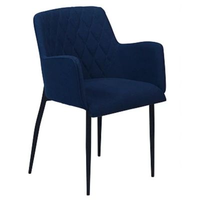 DIOGO CHAIR FABRIC BLUE