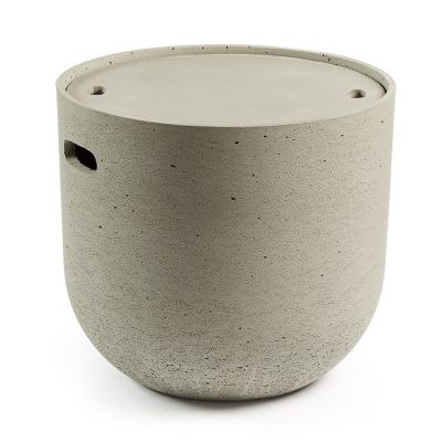 CARLITO CEMENT SIDE TABLE