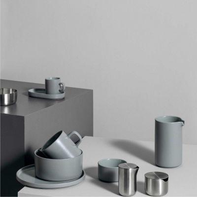 Talerz obiadowy pilar 27 cm mirage grey Blomus