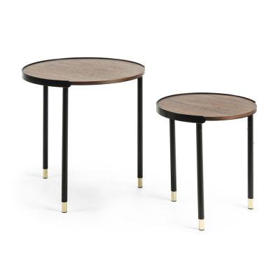 SET OF 2 TABLES CORPS