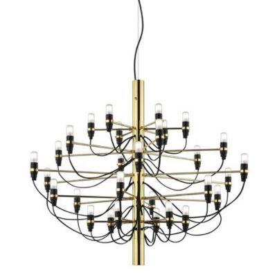 2097-30 brass pendant lamp Flos