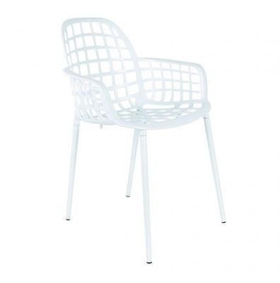 NOBBS GARDEN CHAIR WHITE