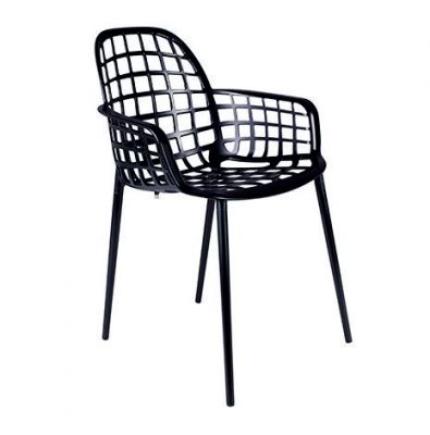 NOBBS GARDEN CHAIR BLACK