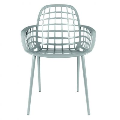 Krzes³o ogrodowe nobbs szare