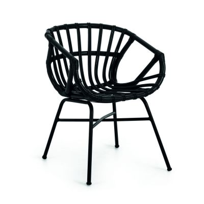 GARDEN CHAIR RUBIN BLACK