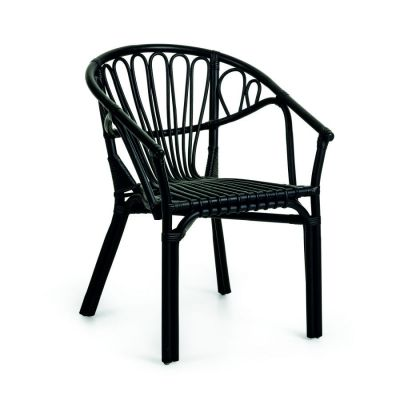 GARDEN CHAIR MILO BLACK