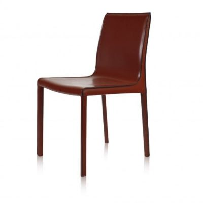 CLOSTER CHAIR BURGUNDY