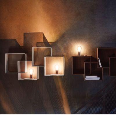 lampa stołowa glow przezroczysta-mosiądz bolia