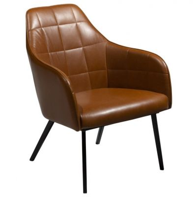 DONA ARMCHAIR BROWN VINTAGE