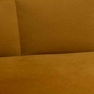 FOTEL donna bronze velvet