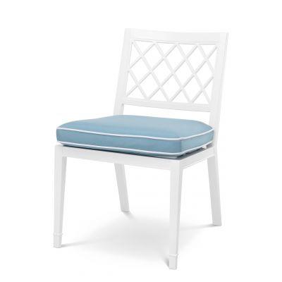 krzes³o ogrodowe PALADIUM bia³e Eichholtz