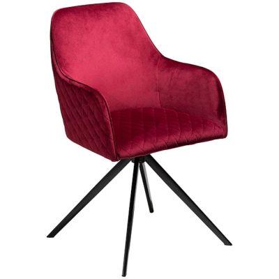 KRZES£O TWINE rubinowe velvet DAN-FORM