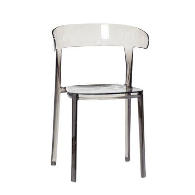 krzes³o z tworzywa szare HUbsch