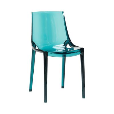krzes³o z tworzywa zielone HUbsch