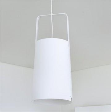 LAMPA WISZ¡CA LEAF S WHITE