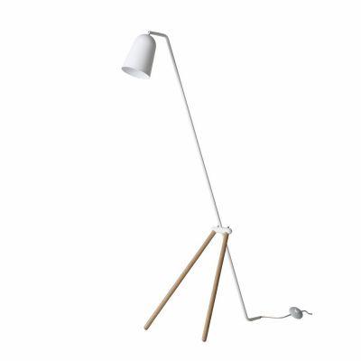 FLOOR LAMP GIRAFFE WHITE OAK-MAT FRANDSEN
