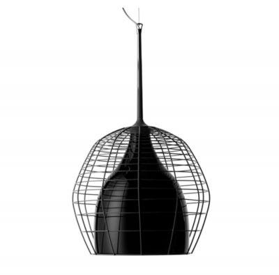 CASE GRANDE PENDANT LAMP BLACK SHADE WITH BLACK STEEL DIESEL&FOSCARINI