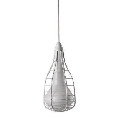 CAGE MIC WHITE PENDANT LAMP DIESEL&FOSCARINI