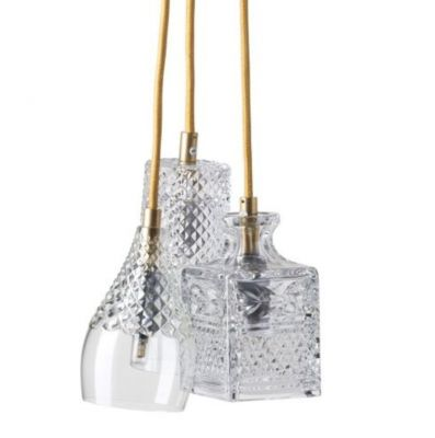 Hanging lamp Crystal GROUP Henley Bates Jeeves GOLD EBB&FLOW