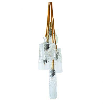 HANGING LAMP CRYSTAL GROUP 5 EBB&FLOW