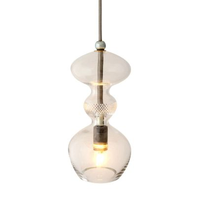 LAMPA WISZ¡CA FUTURA BEZBARWNA 24 CM EBB&FLOW