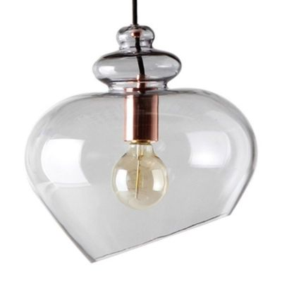 LAMPA WISZĄCA GRACE SZARA 30 CM FRANDSEN