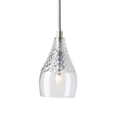 LAMPA WISZ¡CA CRYSTAL HENLEY SILVER EBB&FLOW