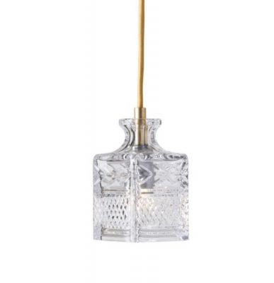 LAMPA WISZ¡CA CRYSTAL JEEVES GOLD EBB&FLOW
