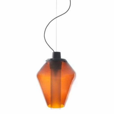 LAMPA WISZ¡CA METAL GLASS 1 BURSZTYNOWA DIESEL&FOSCARINI