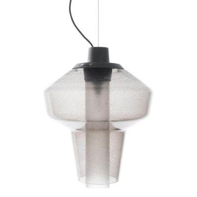 LAMPA WISZ¡CA METAL GLASS 2 SZARA DIESEL&FOSCARINI