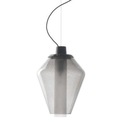 LAMPA WISZ¡CA METAL GLASS 1 SZARA DIESEL&FOSCARINI