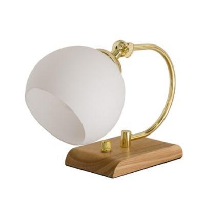 LAMPA STOŁOWA NATURE WHITE-GOLD BLOOMINGVILLE
