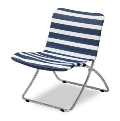 Lise Sunchair Dark Blue Stripes Skagerak