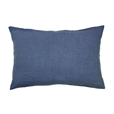 DECORATIVE PILLOW LINEN 40X60 CM STONE BLUE BROSTE COPENHAGEN