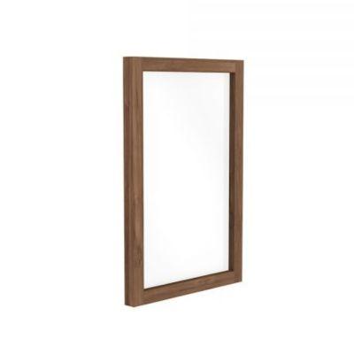 lustro LIGHT FRAME drewno teak 60 cm