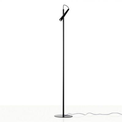 MAGNETO BLACK FLOOR LAMP FOSCARINI
