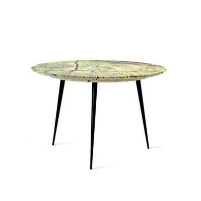 DISC S GREEN SIDE TABLE MATER