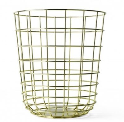 WIRE BIN BRASS MENU