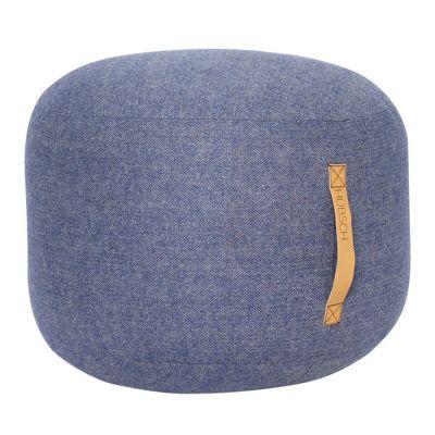 pufa okr�g�a 50 cm niebieska hubsch